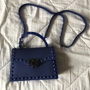 Blue jelly bag
